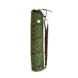 Pokrowiec na matę do jogi – zielone liście