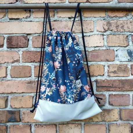 Plecak worek -polne-kwiaty