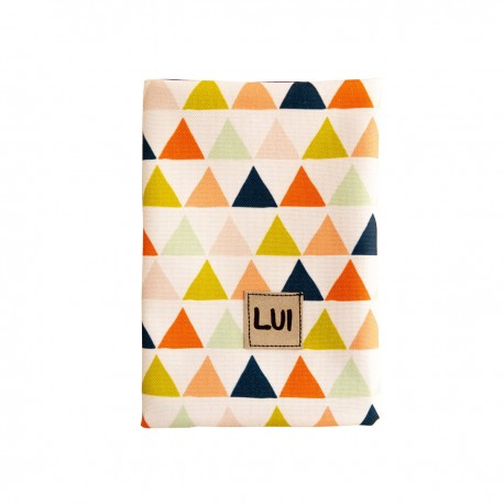 Etui na czytnik ebook - trójkąty