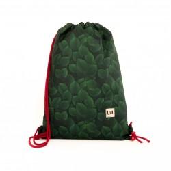 006522d9187e2 Plecak worek - zielone liście